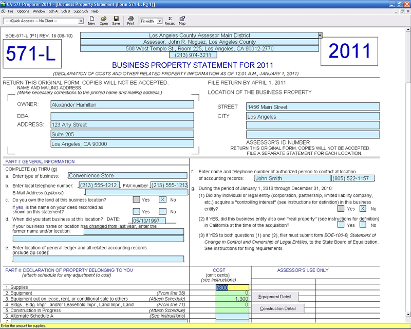 Ca 571 Preparer Cfs Tax Software Inc Software For Tax