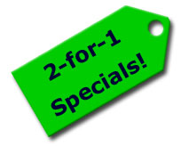 2-for-1 Specials