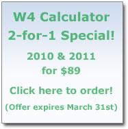 W4 Calculator