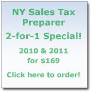 NY Sales Tax