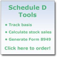 Schedule D Tools