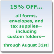 15% off Forms