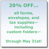 20% off Supplies