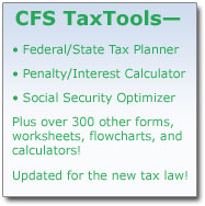 TaxTools - CFS Tax Software, Inc  - Software for Tax