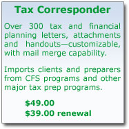 Tax Corresponder